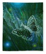 Butterfly Magic By Jrr Fleece Blanket