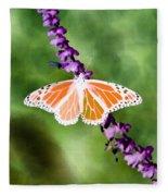 Butterfly - Monarch - Photopower 319 Fleece Blanket