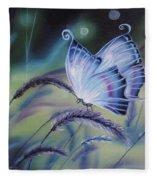 Butterfly Series #3 Fleece Blanket
