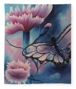 Butterfly Series 6 Fleece Blanket