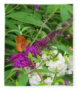 Butterfly Surprise Fleece Blanket