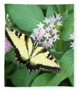 Butterfly - Swallowtail Fleece Blanket