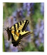 Butterfly Thoughts Fleece Blanket