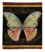 Butterfly Treasure-sofia Fleece Blanket