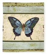 Butterfly Trio-3 Fleece Blanket