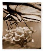 Butterfly Whisper Fleece Blanket