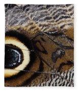 Butterfly Wing Fleece Blanket