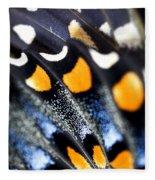Butterfly Wings Fleece Blanket