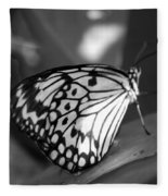Butterfly7 Fleece Blanket