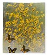Butterfly's Paradise Fleece Blanket