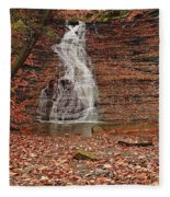 Buttermilk Falls Fleece Blanket