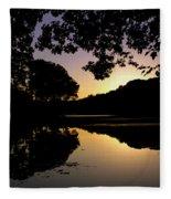 Buttonwood Sunset Fleece Blanket