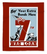 Buy Your Extra Bonds Here Fleece Blanket