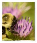 Buzzy Bee Fleece Blanket