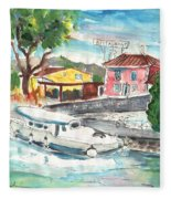 By A French Canal 02 Fleece Blanket