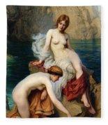 By Summer Seas Fleece Blanket