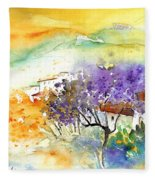 By Teruel Spain 01 Fleece Blanket