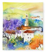 By Teruel Spain 02 Fleece Blanket