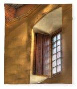 By The Light Of The Window Fleece Blanket