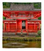 Bydo-in Temple 2 Fleece Blanket