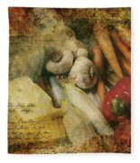 Bygone Moments Fleece Blanket