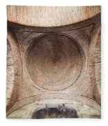 Byzantine Medieval Dome Ceiling Fleece Blanket