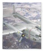 C-119 Flying Boxcar Fleece Blanket