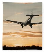 C-47 Finals Fleece Blanket
