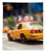 Cab Ride Fleece Blanket