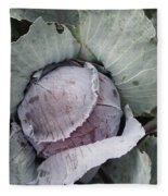 Cabbage Fleece Blanket