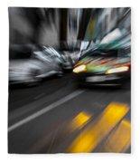 Cabbie Too Fast Fleece Blanket
