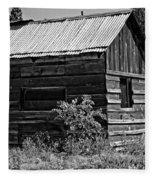 Cabin In The Wilderness Fleece Blanket