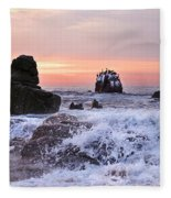 Cabo Sunrise Fleece Blanket