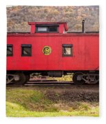 Caboose Fleece Blanket
