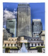 Cabot Square London Fleece Blanket