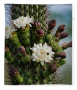 Cacti Bouquet  Fleece Blanket