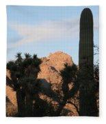 Cacti Fleece Blanket
