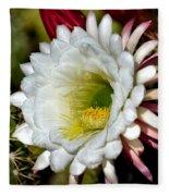 Cacti Flora Fleece Blanket
