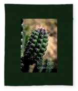 Cactus Arm Fleece Blanket