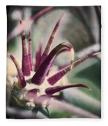 Cactus Crown Fleece Blanket