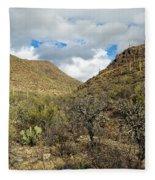 Cactus Everywhere Fleece Blanket