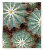 Cactus Family 2 Fleece Blanket