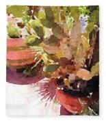Cactus Garden Fleece Blanket