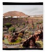 Cactus Paradise Fleece Blanket
