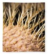 Cactus Skin Fleece Blanket