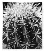 Cactus Thorn Pattern Fleece Blanket