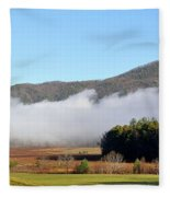 Cades Cove Fields Fleece Blanket