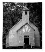 Cades Cove Missionary Baptist Church Fleece Blanket