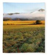 Cades Cove Valley Fleece Blanket