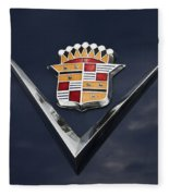 Cadillac Crest Fleece Blanket